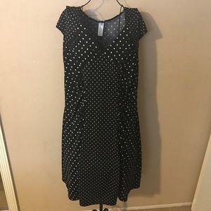 🎉Cute woman's polka dot work/church dress 1X🎉